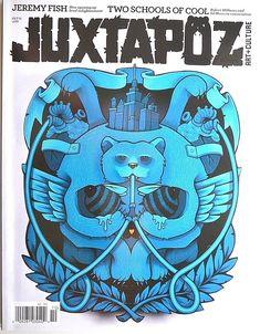 Juxtapoz Art & Culture Mag #129: Jeremy Fish Mario Wagner Ed Moses Robt Williams