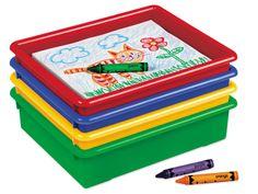 Heavy-Duty Paper Trays - Set of 4  Lakeshore Dream Classroom