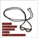 Tutorial: Shrink Plastic Nerd Glasses Pendant   The Zen of Making