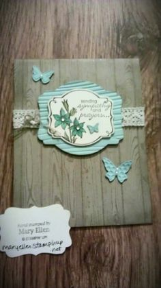 The new SAB stamp is designed to be cut out by the Deco Labels Framelits, by Karen Burniston for Stampin' Up! This is a beautiful card! - Love the new Hardwood background. Plus the gorgeous Sale A Bration stamp..