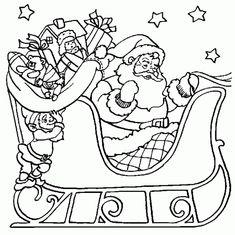 Dibujos De Navidad En Blanco Y Negro