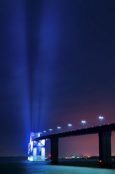 TOKYO GATE BRIDGE LIGHTS UP THE SKY OF TOKYO
