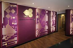 Miles and Lincoln provide laser cut screens to a wide selection of worldwide clients. Find out more information on our latest projects Laser Cut Screens, Laser Cut Panels, Cnc Cutting Design, Laser Cutting, Hotel Interiors, Office Interiors, Photo Booth Design, Panel Room Divider, Room Dividers