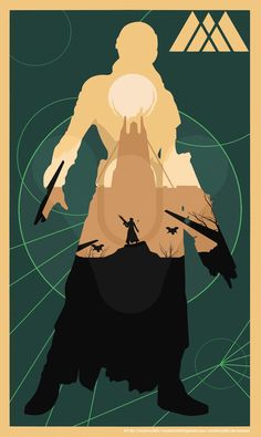 DESTINY: Warlock Poster (Earth)