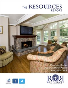 The Resources Report Quarter 2015 Real Estate Market Report Monmouth County NJ Resources Real Estate Monmouth Beach, Monmouth County, Atlantic Highlands, Red Bank, Real Estate Marketing, Offices, Amazing, Home Decor, Decoration Home