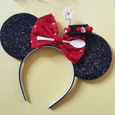 Mary Poppins Mouse Ears Headband Spoonful of Sugar Mary Poppins... (96.940 COP) ❤ liked on Polyvore featuring accessories, hair accessories, barrettes & clips, grey, head wrap hair accessories, barrette hair clips, headband hair accessories, glitter headbands and mini hair clips