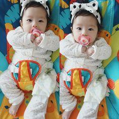 ㅡ Pinterest: @milkytaetae ㅡ Bebe corena  Korean baby