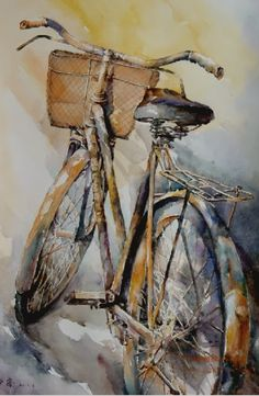 dustyfleas: It is by riding a bicycle that you learn the contours of a country best, since you have to sweat up the hills and coast down them.Ernest Hemingway …
