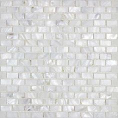 Mother of pearl tile backsplash white freshwater shell mosaic subway wall decor natural seashell tile shower MPBK03