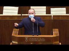 Mazurek o programovom vyhlásení Matovičovej vlády schôdza - Try Again, Youtube, Youtubers