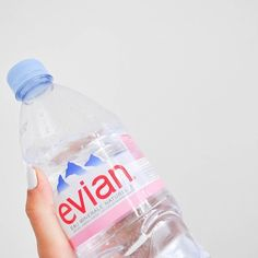 Getting that hydration fixed ☀️ #hydrate #water #evian #everyday
