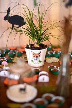 Estéfi Machado: Festa na Floresta! * Festa feita à mão