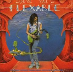 Steve Vai Flexable - Album Cover