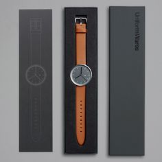Nice detailed design wristwatch by Uniform Wares. Like the overall package. So British - in a good way :)