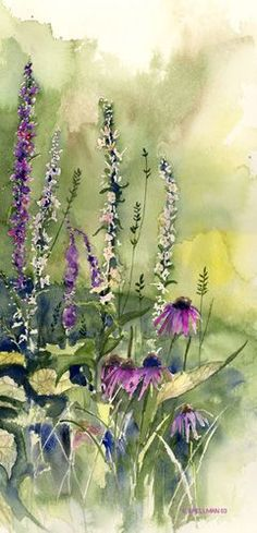 Kathleen Spellman WATERCOLOR - Nature painting