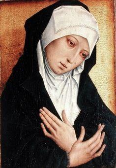 Rogier van der Weyden (Flemish, 1400-1464) Mater Dolorosa