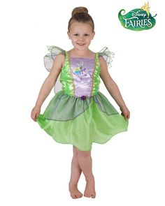 Tinkerbell Rainbow Fairy Tinker Girls Child Book Week Fancy Dress Costume