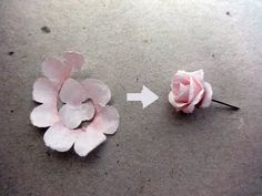 How to make rose paper flower | Easy origami flowers for beginners making | DIY-Paper Crafts - YouTube