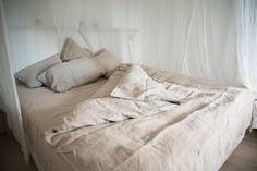 Bettlaken Moona - Natur | Barefoot Living by Til Schweiger #interior #deko #leinen