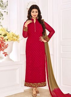 Shop online bollywood celebrity Ayesha Takia beige and maroon decent indian salwar suit. This decent indian salwar suit is prettified with exclusive embroidered and lace. Bollywood Suits, Bollywood Dress, Bollywood Fashion, Bollywood Style, Designer Suits Online, Designer Salwar Suits, Buy Salwar Kameez Online, Churidar Suits, Patiala