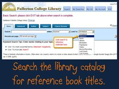 FC Library Catalog