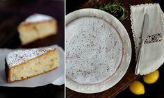 three little halves: Things That Matter + Lemon, Rosemary  Olive Oil Semolina Cake
