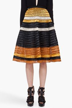 Proenza Schouler Woven Knit Skirt