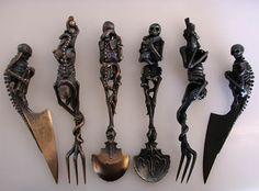 Skeleton Utensils