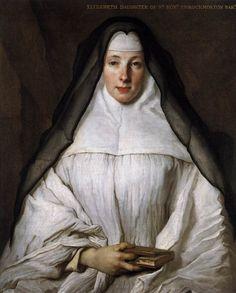 Nicolas de Largilliere 1656-1746  Elizabeth Throckmorton c. 1729  Oil on canvas  via WGA