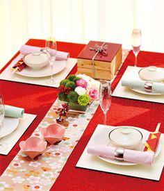 新春のおもてなし テーブルクロスの専門店 テーブルレシピ