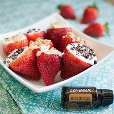 Strawberry Coconut Creams www.mydoterra.com/essentiallygreen