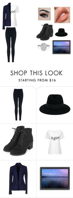 """""""Untitled #42"""" by happy-geek7 ❤ liked on Polyvore featuring Miss Selfridge, Maison Michel, Topshop, Michael Kors, Americanflat and darkcolors"""