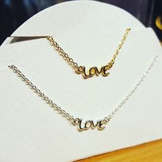 LOVE 💗💗 #liebe #love #necklaces #jewlery #jewellery #armcandy #ketten #gold #silver #Silber #cute #armparty #bling #style #accessories #neu #schmuck #modeschmuck #modeblogger #fadhionblogger #charms #bracelet #ring #style #lookbook #fashion #shopping #instajewelry