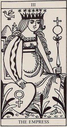 The Empress - Rolla Nordic Tarot