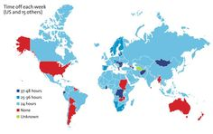 International Comparison of Work Leave Policies » Sociological Images