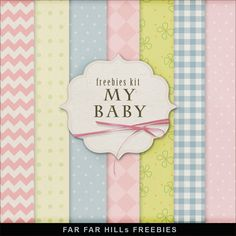 New Freebies Kit of Backgrounds - My Baby Far Far Hill