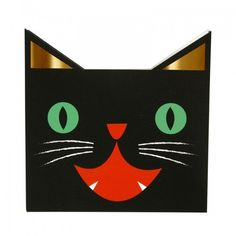 Scary Cat Napkins By Meri Meri