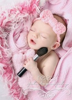 I just LOVE this photo!!!  What a darling idea for a newborn baby girl! by chcem