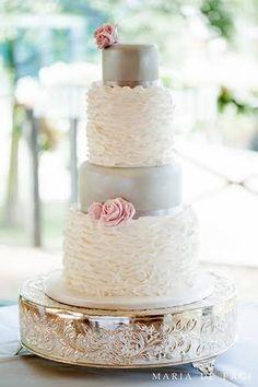 Modern Wedding Cake | Cakes by Robin