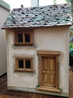 Julie's dolls house blog: 1/12th Scale 'Nettle Cottage'
