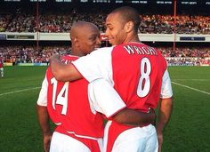 Swapping Shirts at Arsenal.