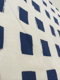 """masu masu ... square square  c/# blue   tenugui """"cu3"""""""