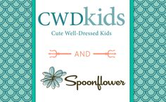We are so excited to partner with CWDkids and the members of our amazing creative community to create a unique new line of childrenswear! CWDkids has offered Well Dressed Kids, Design Competitions, Spoonflower, Challenges, Gift Wrapping, Wallpaper, Create, Mermaids, Blog