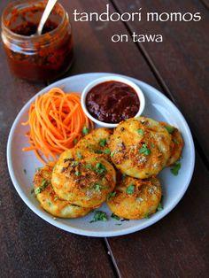 Tandoori Momos Recipe How To Make Tandoori Momo In Pan Recipe Veg Recipes, Spicy Recipes, Curry Recipes, Kitchen Recipes, Indian Food Recipes, Cooking Recipes, Healthy Recipes, Savoury Recipes, Indian Starter Recipes