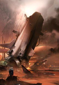 ArtStation - The Daedalus Incident, sparth - nicolas bouvier