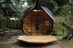 Cool Child Playhouse In a Back Yard – Polyhedron Habitable by Manuel Villa | DigsDigs