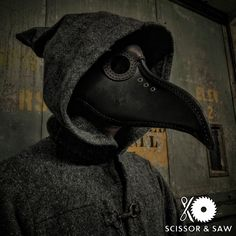 In 1619, Charles de L'Orme invented the Medieval equivalent of a hazmat suit. It consisted of a waxed overcoat, leather gloves, cane and beak-shaped mask filled with floral scents. Even though the miasma theory of disease was ultimately proven untrue, the beak functioned like a gas mask so p