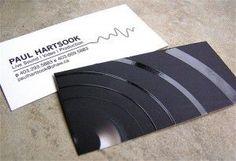 Turntable: DJ  businesscarddesignideas.com