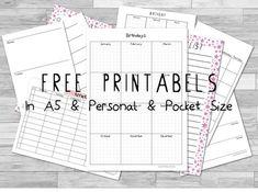 Colorfulblackrose: Filofax | Free Printables | Colorfulblackrose