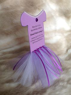 Sofia the First Invitations- Set of 8 via Etsy